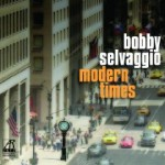 This is the cover of Bobby Selvaggio's latest CD.